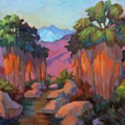 Early Morning At Indian Canyon Art Print