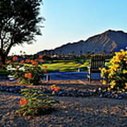 Early Morning At The Dunes Golf Course - La Quinta Art Print