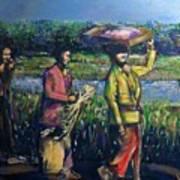 Early Morning In Bali Art Print