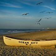 Early Morning Ocean City Nj Art Print