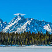 Early Spring In The Tetons Art Print