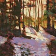Early Spring Near Hyak Art Print