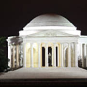 Early Washington Mornings - The Jefferson Memorial Art Print