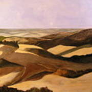 Earth And Dunes Art Print