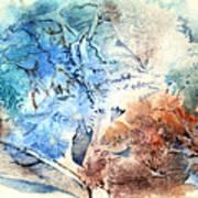 Earth And Ice Art Print