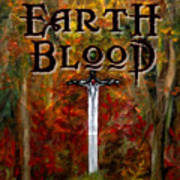 Earth Blood Cover Art Art Print