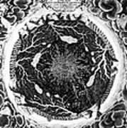 Earth: Cross-section, 1664 Art Print