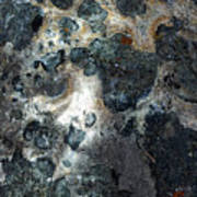 Earth Memories - Stone # 8 Art Print