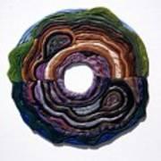Earth Slice Art Print