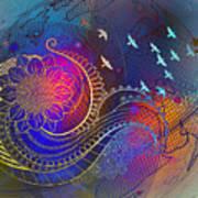 Earth, Zen, Peace 2 Art Print