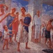 Earthquake In Crimea Kuzma Petrov-vodkin - 1927-1928 Art Print