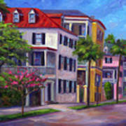 East Bay - Charleston  Art Print