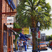 East Bay St. Charleston Sc Art Print
