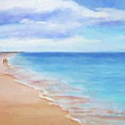 East Beach I Art Print