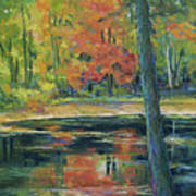 East Coast Autumn Art Print
