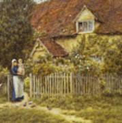 East End Farm Moss Lane Pinner Art Print