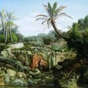 East Landscape Henryk Semiradsky Art Print