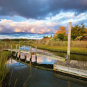 East Moriches Reflections Art Print