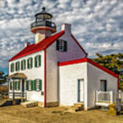 East Point Light -renovated Art Print