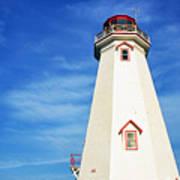 East Point Lightstation Prince Edward Island Art Print