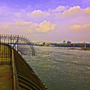 East River View Looking North Art Print