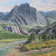 East Rosebud Montana Art Print