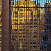 East Side Reflection Art Print