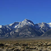 East Side Sierra Nevada Range Art Print