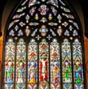 East Stained Glass Window Christ Church Cathedral 1 Art Print