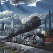 Eastbound Twentieth Century Limited Art Print