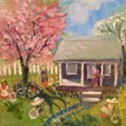 Easter At My House Art Print