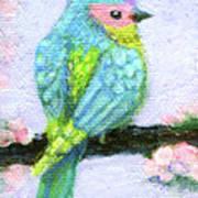 Easter Bird Art Print