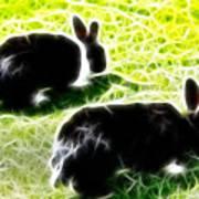 Easter Bunny 1 Art Print