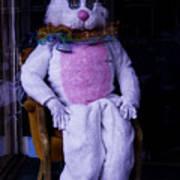 Easter Bunny Costume  Art Print