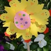 Easter Chick Decoration Art Print