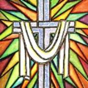 Easter Cross 5 Art Print