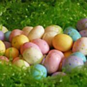 Easter Egg Nest Art Print