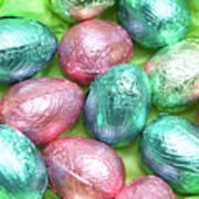 Easter Eggs Viii Art Print
