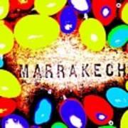 Easter In Marrakech Art Print