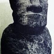Easter Island Stone Statue Art Print