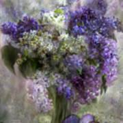 Easter Lilacs Art Print