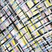 Easter Weave Art Print