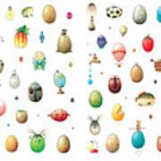 Eastereggs Art Print