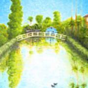 Eastern Canal Impression Art Print