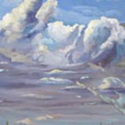 Eastern Flagler County Cloud Series IIi Art Print