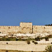 Eastern Gate Temple Mount Art Print