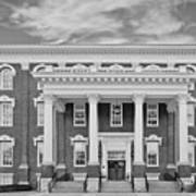 Eastern Kentucky University Building Art Print by University Icons