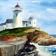 Eastern Point Light Art Print