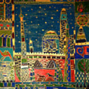 Eastern Stars Art Print