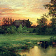 Easthampton Print by Thomas Moran
